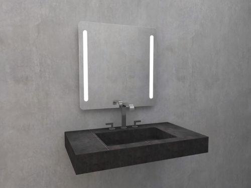 Mirror ASTOLF O with LED lighting