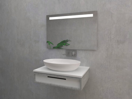 Castelli - Mirror with LED lighting
