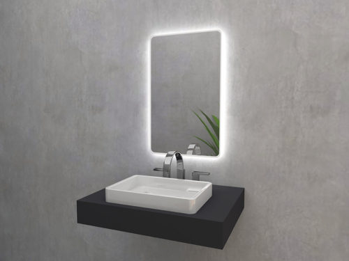 Matin Mirroy - mirror with LED backlight