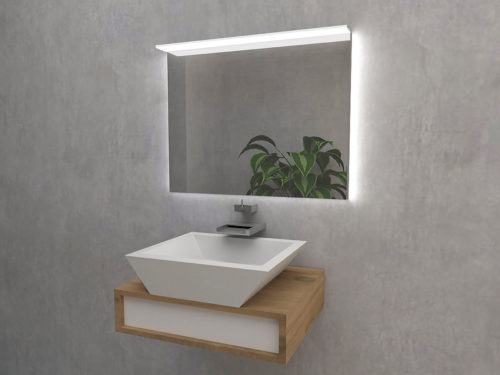 Rayo -  LED bathroom mirror with lights. Mirroy - manufacturer of mirrors