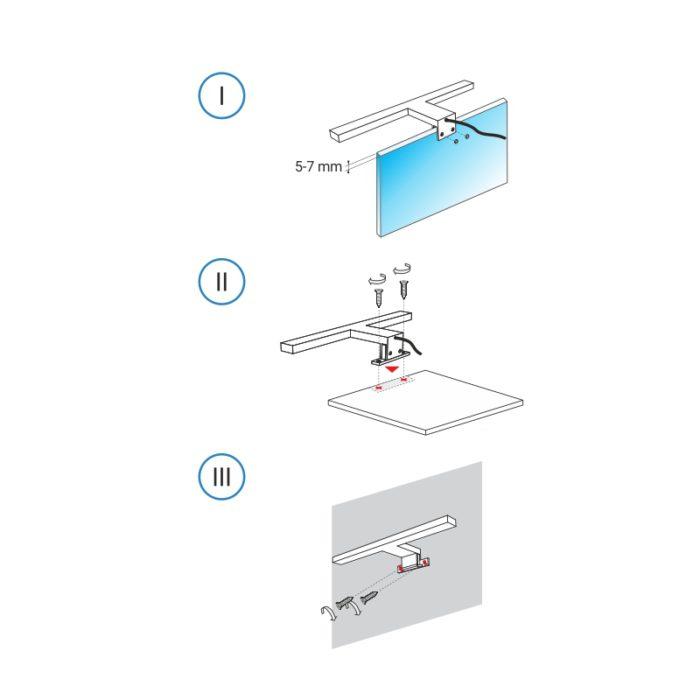 Sabi S - montaż wysięgnika LED