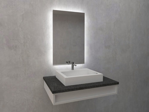 Veldi - mirror with LED lighting. Mirroy Polish mirror brand. Manufacturer of mirrors.