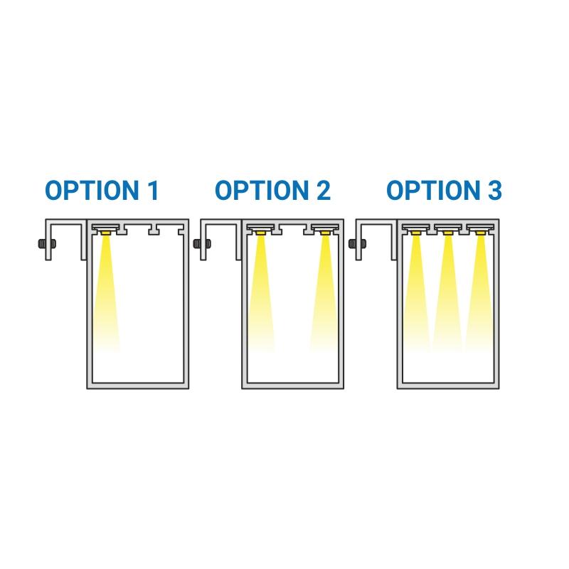 Trend mirror oświetlenie do luster - opcje do wyboru